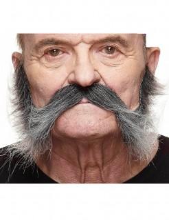 Ergrauender Schnurrbart für Herren