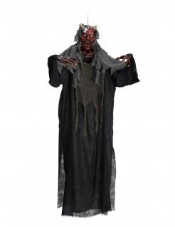 Diabolischer Dämon Halloween-Hängedeko mit Licht 170 cm