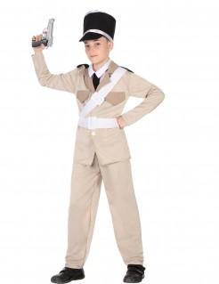 Gendarm-Kostüm Polizisten-Kinderkostüm