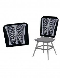 Halloween-Stuhlabdeckungen Skelett 38 x 48 cm