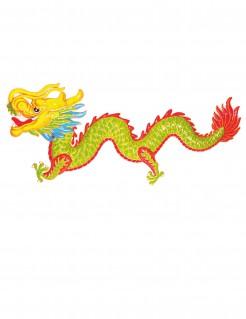 Drachen Dekoration Asien-Mottoparty 100cm