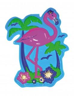 Flamingo-Wanddekoration Raumdeko bunt 60cm
