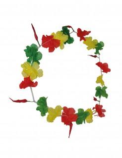 Hawaii-Kette Fanartikel grün-gelb-rot