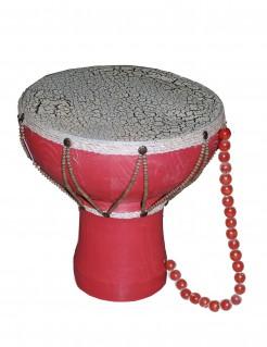 Tam Tam Indianer-Trommel Rot-Weiß 26cm