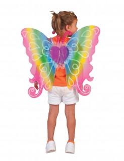 Feen-Flügel für Kinder bunt 60x54cm