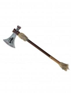 Indianer-Tomahawk Kostümaccessoire braun 47cm