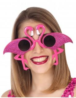 Flamingo-Brille für Erwachsene pink