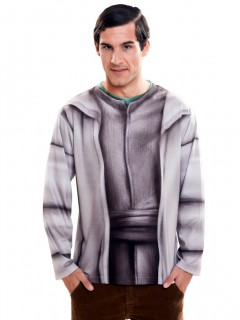 Yoda-Longsleeve Star Wars™-Shirt grau