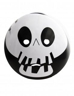 Skelett-Emoticon Maske für Erwachsene