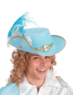 Prinzen-Hut für Erwachsene blau
