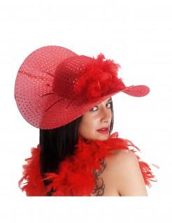 Eleganter Hut für Damen rot