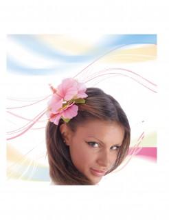 Haar-Blume für Erwachsene rosa