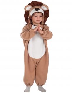 Löwen-Kostüm für Babys braun-beige-weiss