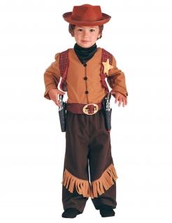 Kostüm Cowboy mit Weste für Jungen