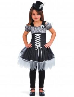 Kostüm Dia de los Muertos Hexe für Mädchen