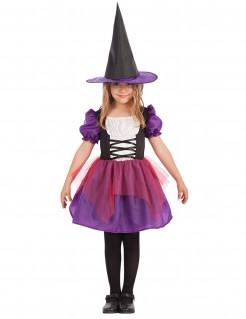 Freches Halloween Hexenkostüm Hexe für Mädchen