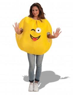 Winkendes Emoticon Kostüm für Erwachsene