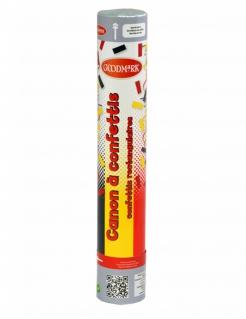 Deutschland-Konfettikanone Belgien-Konfetti schwarz-rot-gelb 30cm