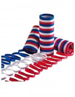 Frankreich-Luftschlangen-Set Fanartikel 3 Stück blau-weiss-rot