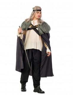 Kostüm Nachtwächter für Herren grau