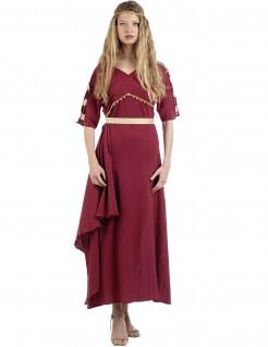 Kostüm Römerin für Damen rot