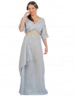Kostüm römische Prinzessin für Damen blau