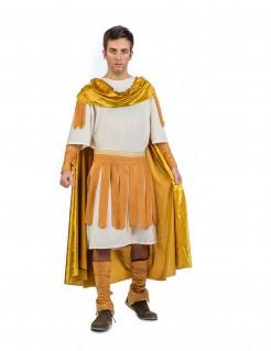 Kostüm römischer Kaiser für Herren gold