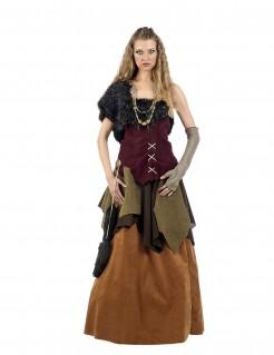 Kostüm Wikingerin für Damen