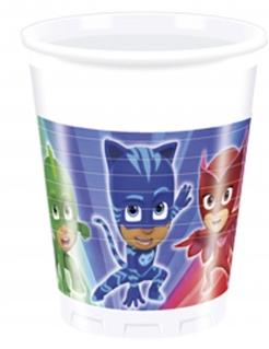 PJ Masks™-Becher Kinderparty-Tischdeko 8 Stück blau-grün-rot 200ml