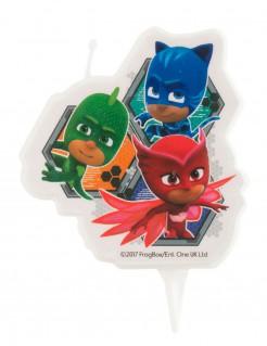 PJ Masks™ Kerze Kuchendeko Lizenzware bunt 7,5cm