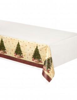 Weihnachtsbaum Tischdecke aus Kunststoff 137cm x 259 cm