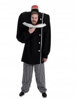 Kopfloses Halloweenkostüm schwarz-weiss
