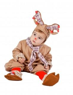 Rentier-Babykostüm beige-braun