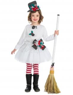 Mädchen-Weihnachtskostüm bunt