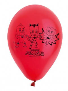 PJ Masks™ Luftballons Lizenzware 8 Stück rot 30cm