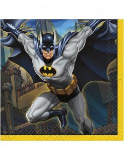 Batman™ Servietten aus Papier 16 Stück bunt 25 x 25 cm