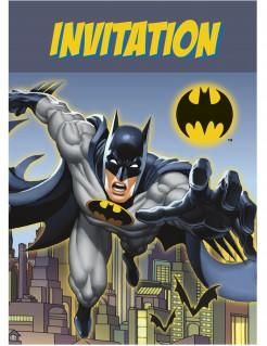 Batman™ Einladungskarten 8 Stück