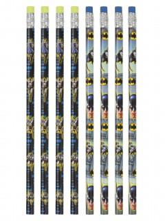 Batman™-Bleistifte Lizenzartikel 8 Stück bunt