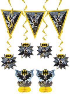 Batman™ Deko-Set für Kindergeburtstage