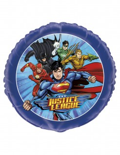 Justice League™ Alumium-Ballons 4 Stück 45cm