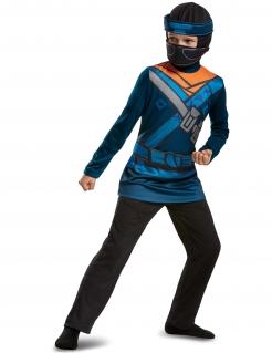 Jay Ninjago™ Kinderkostüm Lizenzartikel blau-schwarz