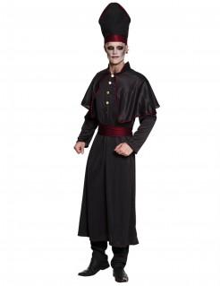 Dunkler Priester Halloween-Kostüm für Herren