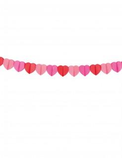 Valentinstag-Girlande Herzen bunt 4m