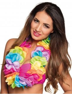 Hawaii-Halskette Deluxe bunt