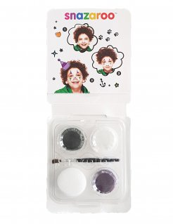 Make-up-Set Clown Snazaroo™ grün-weiss-violett