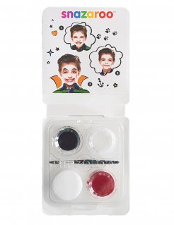 Make-up-Set Vampir Snazaroo™ schwarz-weiss-rot