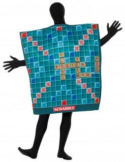 Scrabble™Brettspielkostüm für Erwachsene bunt