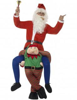 Carry-Me Kostüm Weihnachtselfenreiter