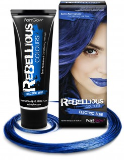 Temporäre Haarfarbe blau 70ml