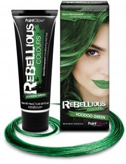 Temporäre Haarfarbe grün 70ml